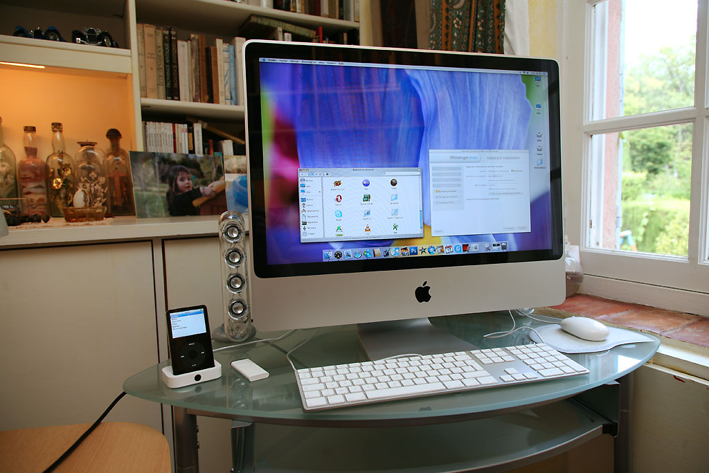 apple imac aluminium 24 4 500 vendu vds 06 hardware achats ventes forum. Black Bedroom Furniture Sets. Home Design Ideas